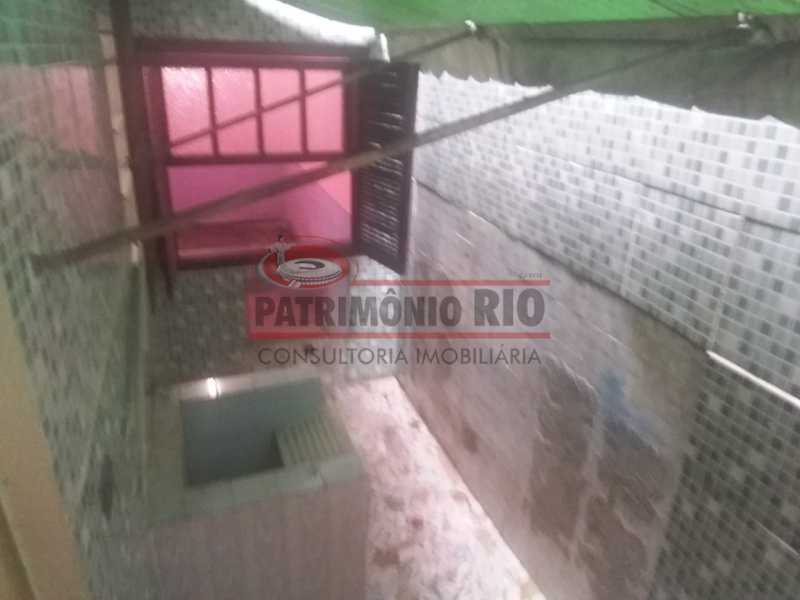 7 - Area de serviço 3. - Apartamento tipo casa de 2qtos - PAAP23439 - 28