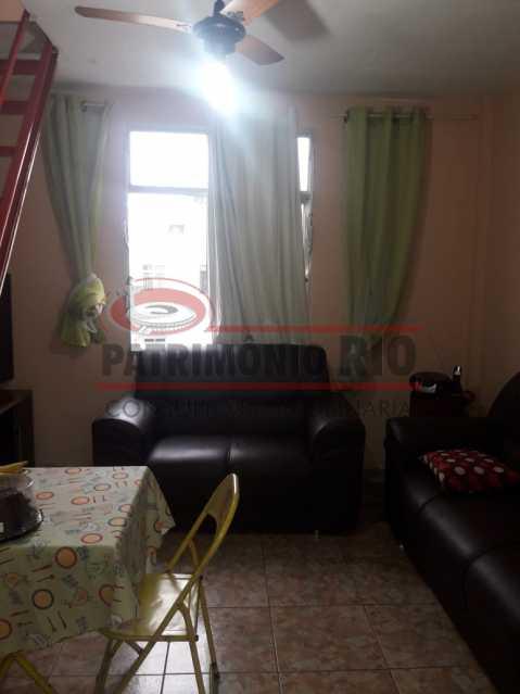 01. - Apartamento, sala, dois quartos, próximo condução comércio Olaria - PAAP23463 - 1
