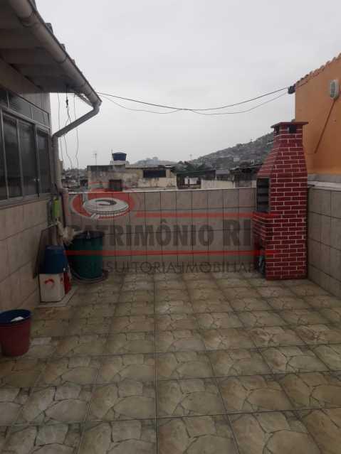 09. - Apartamento, sala, dois quartos, próximo condução comércio Olaria - PAAP23463 - 10