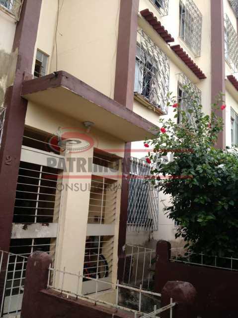 Fachada - 2qtos próximo da estação do metrô - PAAP23464 - 1
