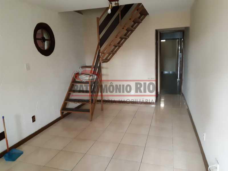 02. - Casa Duplex Condomínio fechado, sala, 3quartos, Irajá - PACN30052 - 3