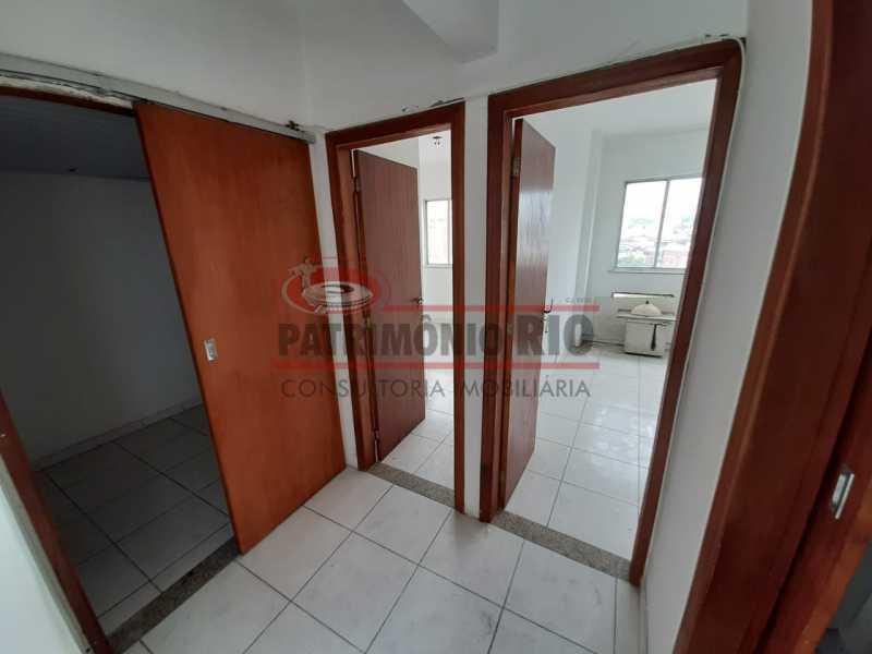 12 4 - Centro de Duque de Caxias Apartamento 2quartos elevador - PAAP23553 - 13