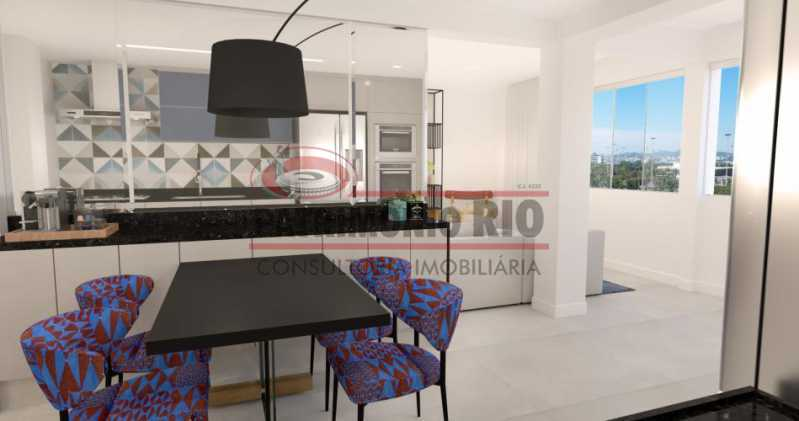 fotos-2[1] - Espetacular Apartamento, 2quartos suíte - semi luxo - Gloria - PAAP23573 - 1