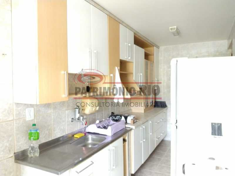 9 - Apartamento Vaz Lobo, 2qtos, varanda, vaga escriturada, prédio com elevador e financiando. - PAAP23578 - 18