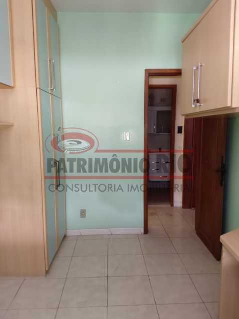 12 - Apartamento Vaz Lobo, 2qtos, varanda, vaga escriturada, prédio com elevador e financiando. - PAAP23578 - 14