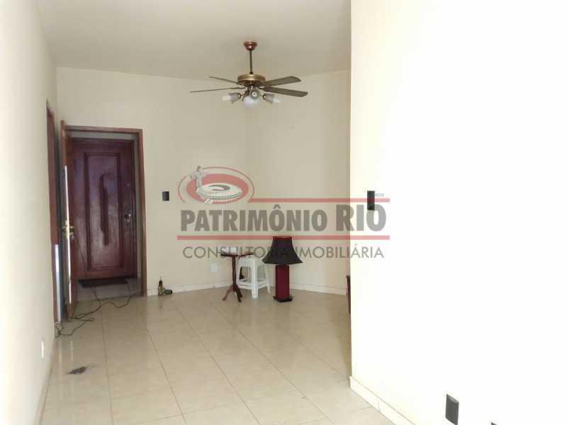 18 - Apartamento Vaz Lobo, 2qtos, varanda, vaga escriturada, prédio com elevador e financiando. - PAAP23578 - 3