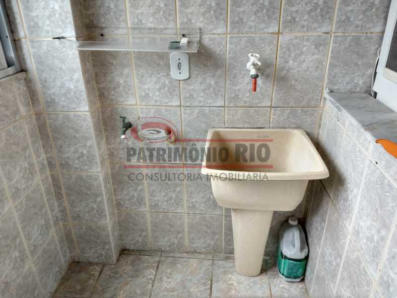 25 - Apartamento Vaz Lobo, 2qtos, varanda, vaga escriturada, prédio com elevador e financiando. - PAAP23578 - 19