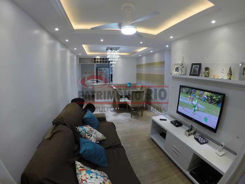 1 - Apartamernto 4qtos, suíte - 2 vagas - Condomínio Flores Bosque Residencial. - PAAP40031 - 1