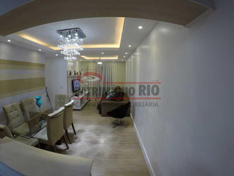 3 - Apartamernto 4qtos, suíte - 2 vagas - Condomínio Flores Bosque Residencial. - PAAP40031 - 4