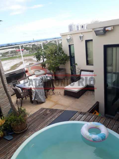 1. - Cobertura 3 quartos à venda Recreio dos Bandeirantes, Rio de Janeiro - R$ 1.100.000 - PACO30072 - 1