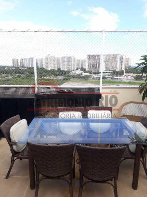 27. - Cobertura 3 quartos à venda Recreio dos Bandeirantes, Rio de Janeiro - R$ 1.100.000 - PACO30072 - 28