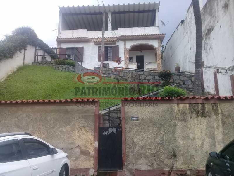 1. - Excelente casa única o terreno na Penha com 3qtos, terraço, piscina e churrasqueira, junto Av. Lobo JR. - PACA30476 - 1