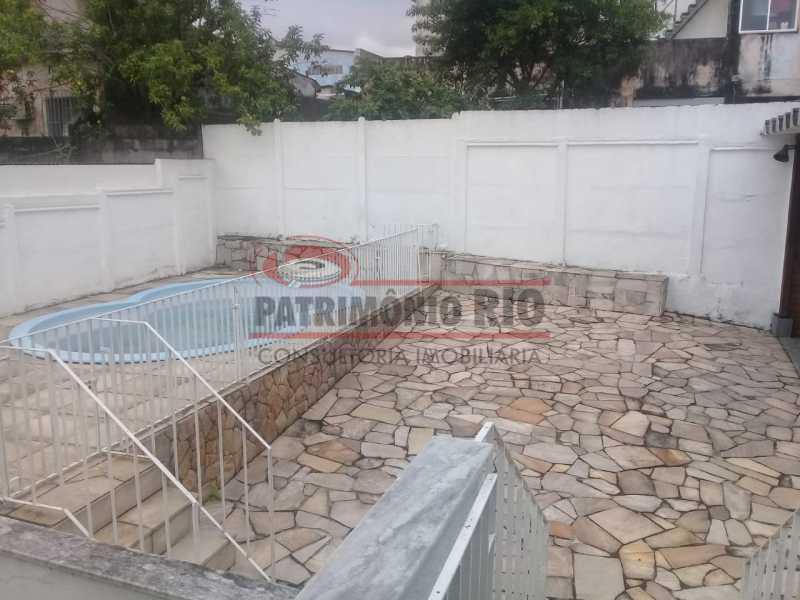 3. - Excelente casa única o terreno na Penha com 3qtos, terraço, piscina e churrasqueira, junto Av. Lobo JR. - PACA30476 - 4