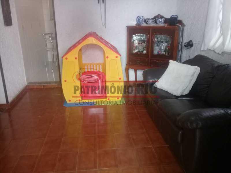 6. - Excelente casa única o terreno na Penha com 3qtos, terraço, piscina e churrasqueira, junto Av. Lobo JR. - PACA30476 - 7
