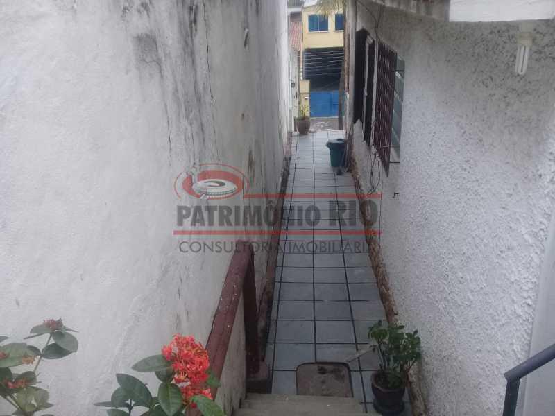 16. - Excelente casa única o terreno na Penha com 3qtos, terraço, piscina e churrasqueira, junto Av. Lobo JR. - PACA30476 - 17