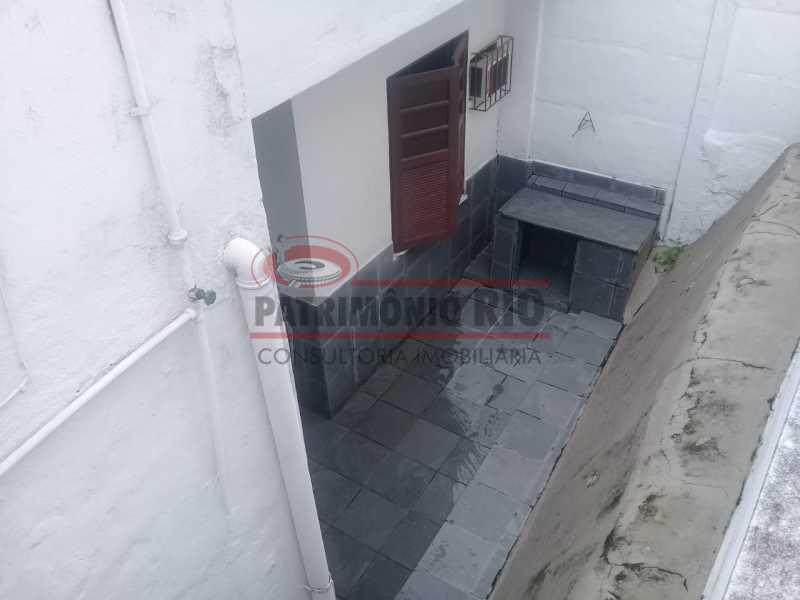 17. - Excelente casa única o terreno na Penha com 3qtos, terraço, piscina e churrasqueira, junto Av. Lobo JR. - PACA30476 - 18