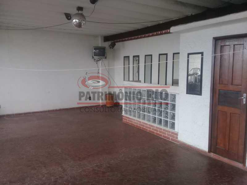 19. - Excelente casa única o terreno na Penha com 3qtos, terraço, piscina e churrasqueira, junto Av. Lobo JR. - PACA30476 - 20
