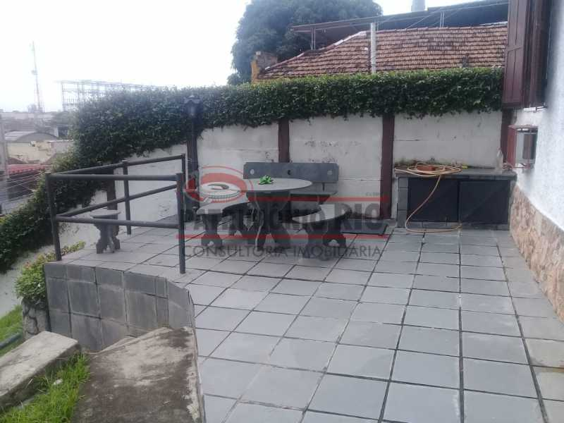 21. - Excelente casa única o terreno na Penha com 3qtos, terraço, piscina e churrasqueira, junto Av. Lobo JR. - PACA30476 - 21