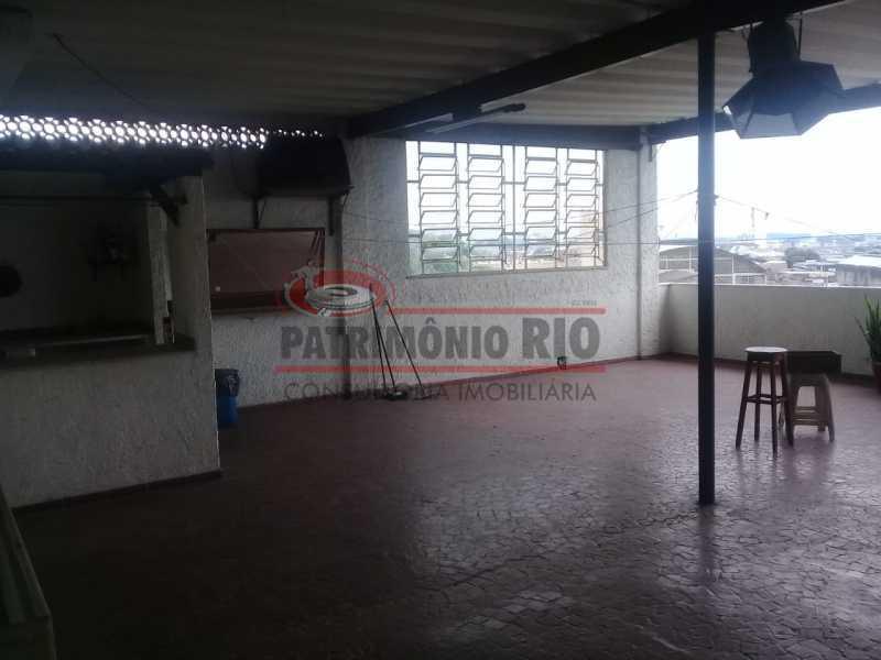 28. - Excelente casa única o terreno na Penha com 3qtos, terraço, piscina e churrasqueira, junto Av. Lobo JR. - PACA30476 - 27