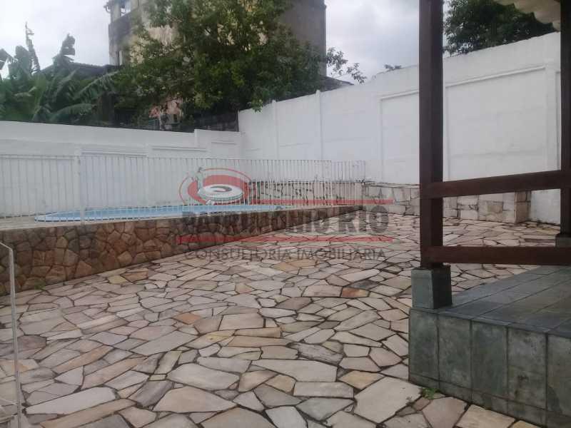 29.1. - Excelente casa única o terreno na Penha com 3qtos, terraço, piscina e churrasqueira, junto Av. Lobo JR. - PACA30476 - 28