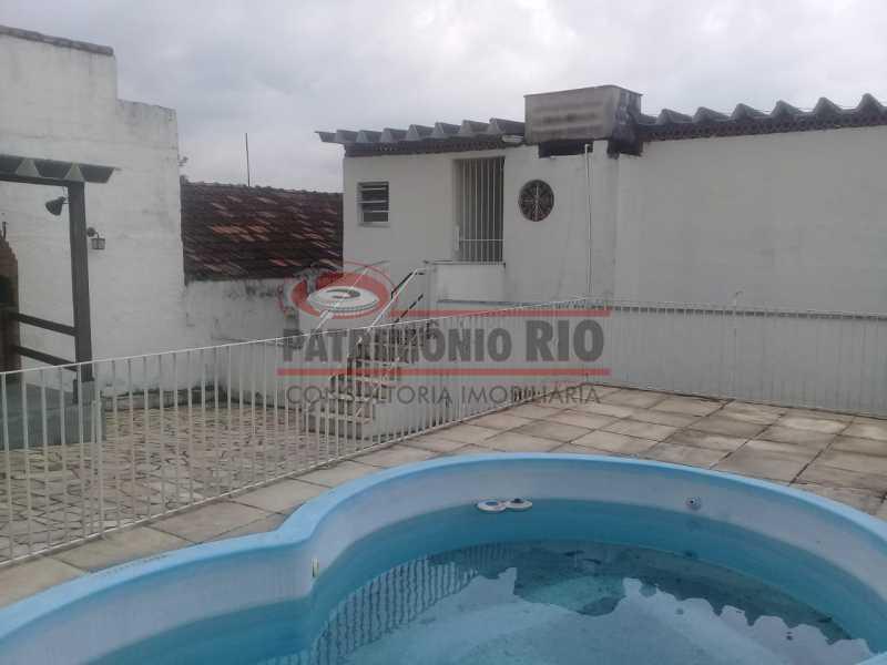 31. - Excelente casa única o terreno na Penha com 3qtos, terraço, piscina e churrasqueira, junto Av. Lobo JR. - PACA30476 - 31