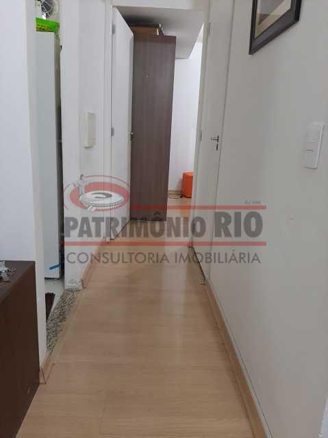 2 - Circulação. - Sala quarto com vaga e lazer completo - PAAP10413 - 5