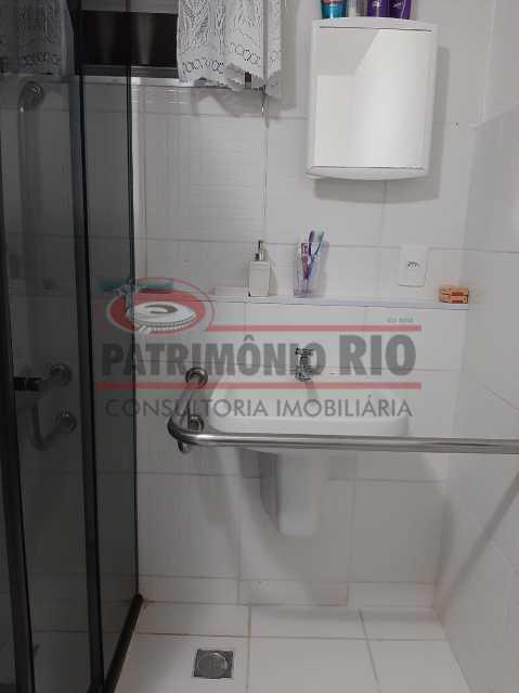 4 - Banheiro 2. - Sala quarto com vaga e lazer completo - PAAP10413 - 8