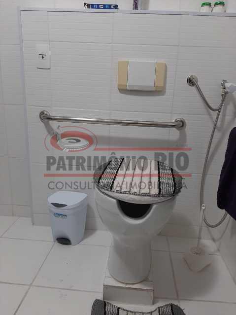 4 - Banheiro 3. - Sala quarto com vaga e lazer completo - PAAP10413 - 9