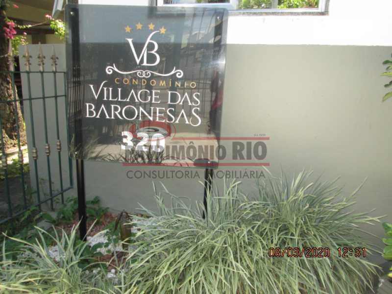 IMG_1093 - Excelente Apartamento - 2quartos, vaga garagem - dependência completa - Praça Seca - PAAP23649 - 1