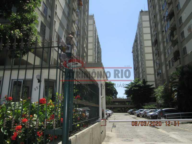 IMG_1095 - Excelente Apartamento - 2quartos, vaga garagem - dependência completa - Praça Seca - PAAP23649 - 8