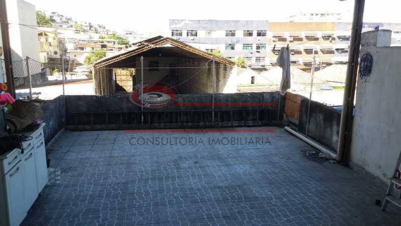 5 - area de serviço 1. - Ampla Casa 2quartos no Coração de Irajá - PACA20526 - 11