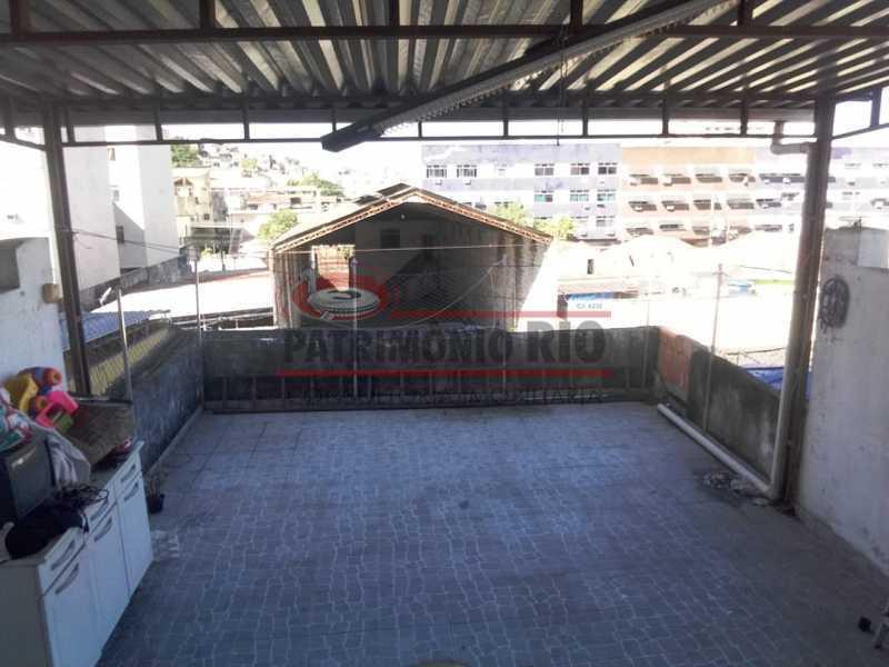 5 - area de serviço 2. - Ampla Casa 2quartos no Coração de Irajá - PACA20526 - 12