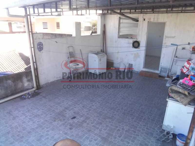 5 - area de serviço 3. - Ampla Casa 2quartos no Coração de Irajá - PACA20526 - 13