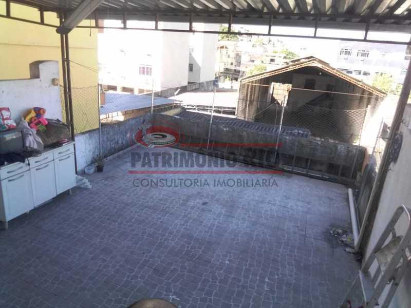 5 - area de serviço 4. - Ampla Casa 2quartos no Coração de Irajá - PACA20526 - 14