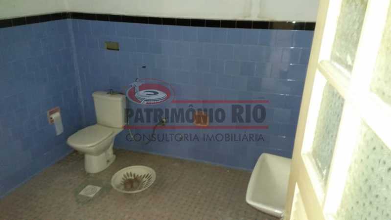 6 - banheiro 3. - Ampla Casa 2quartos no Coração de Irajá - PACA20526 - 17