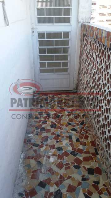 8 - entrada 1. - Ampla Casa 2quartos no Coração de Irajá - PACA20526 - 20