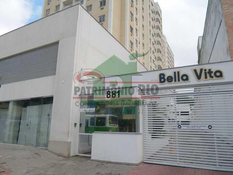 931998125 - Condomínio Bella Vita com varanda e infra - PAAP23676 - 1