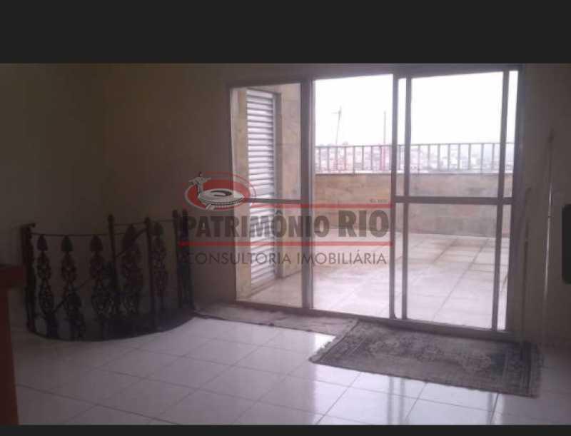 01 - Espetacular cobertura duplex, 2vgs de garagem, Vila da Penha - PACO30076 - 14