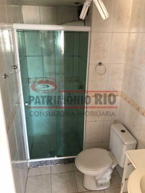 4.9 - banheiro social. - 2quartos com lazer completo juntinho do Parque Madureira - PAAP23734 - 15