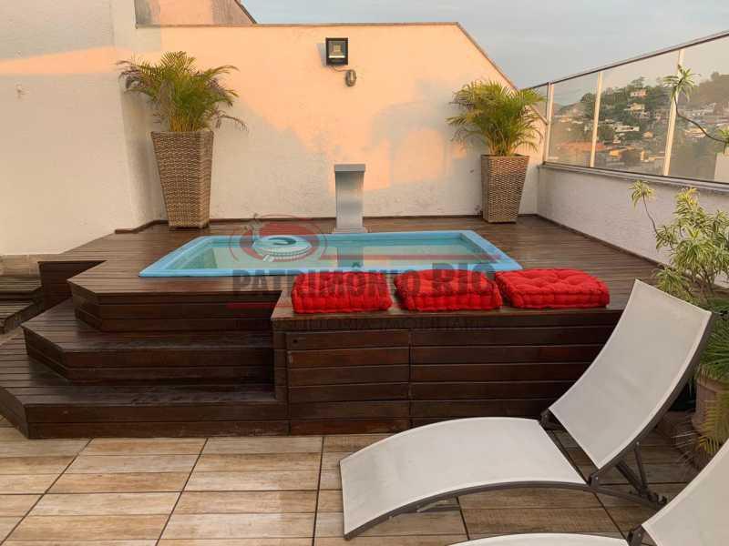 índice - Cobertura Duplex, 2quartos, 145M², Vila Valqueire, 2vahasFinanciando - PACO20043 - 16