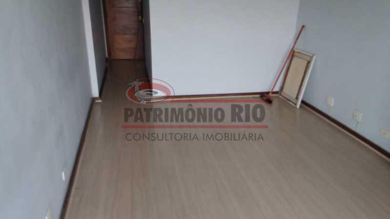 01. - Excelente Apartamento vazio sala dois quartos mais dependência empregada - PAAP23758 - 1