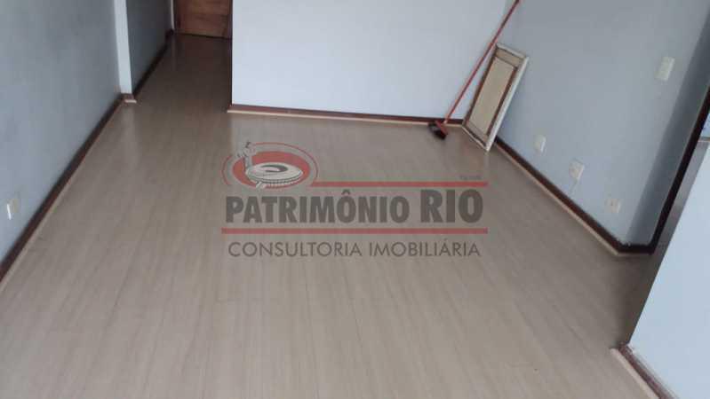 02. - Excelente Apartamento vazio sala dois quartos mais dependência empregada - PAAP23758 - 3