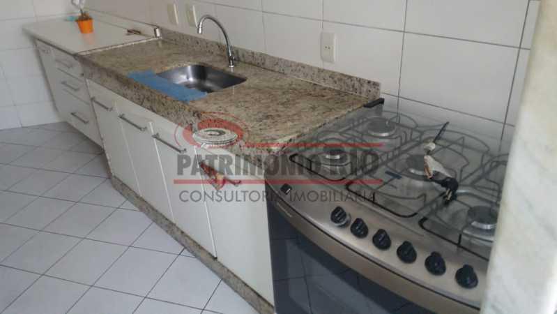 12. - Excelente Apartamento vazio sala dois quartos mais dependência empregada - PAAP23758 - 12