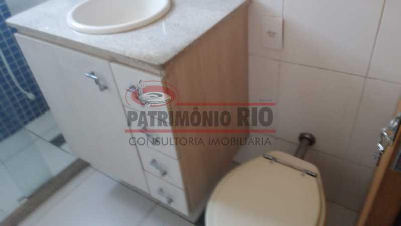 13. - Excelente Apartamento vazio sala dois quartos mais dependência empregada - PAAP23758 - 13