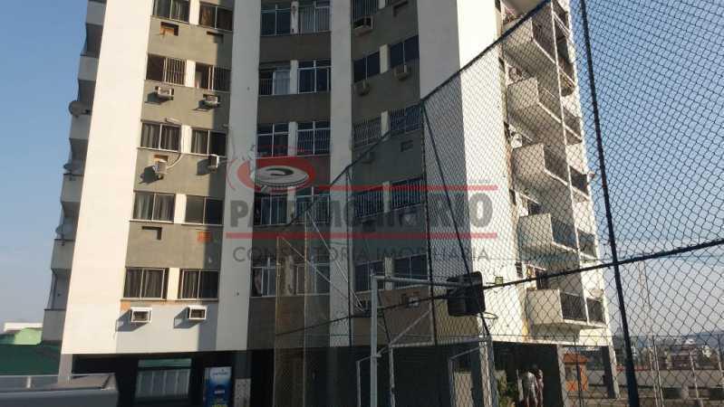 28. - Excelente Apartamento vazio sala dois quartos mais dependência empregada - PAAP23758 - 28