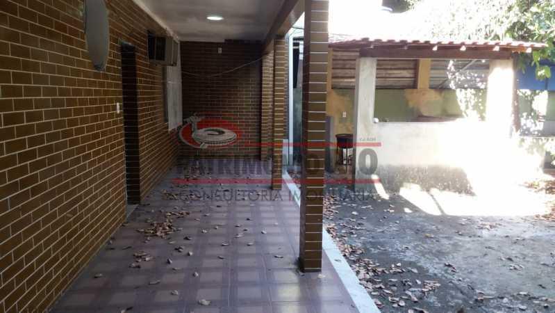 2 - Varanda primeiro andar. - Casa triplex co Coração de Madureira - PACA40171 - 4