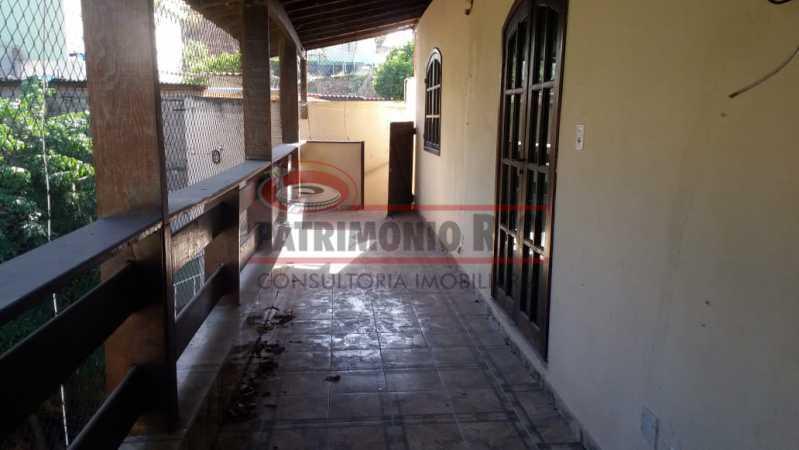 15 - varanda segundoar 2. - Casa triplex co Coração de Madureira - PACA40171 - 22