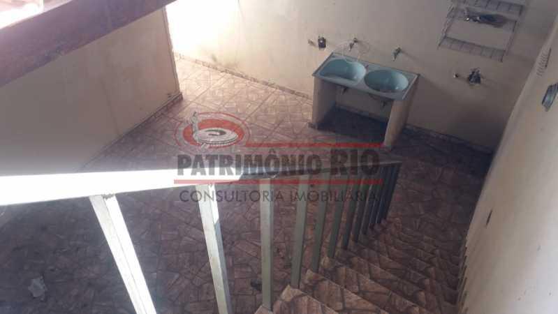 20 - Acesso ao terraço. - Casa triplex co Coração de Madureira - PACA40171 - 30