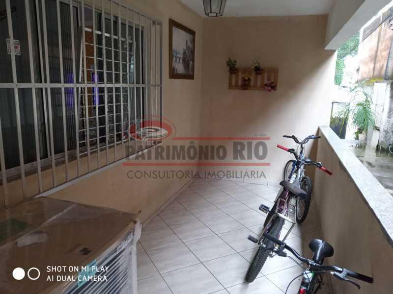 2. - Boa Casa Triplex, em condomínio fechado com varanda, 2quartos, suíte e terraço com churrasqueira - PACV20099 - 3