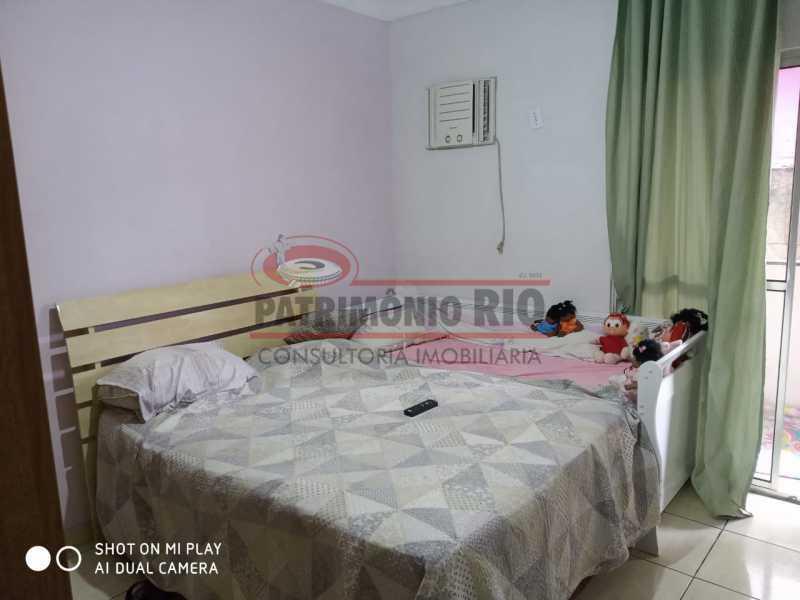 8. - Boa Casa Triplex, em condomínio fechado com varanda, 2quartos, suíte e terraço com churrasqueira - PACV20099 - 9